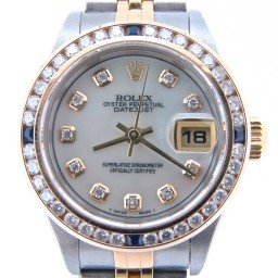 Ladies Rolex Two-Tone 18K/SS Datejust White MOP Diamond 79173 (SKU p113528NMT)