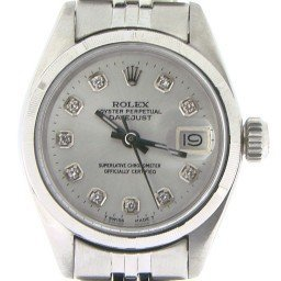 Ladies Rolex Stainless Steel Datejust Silver Diamond 6916 (SKU 3797978NMT)