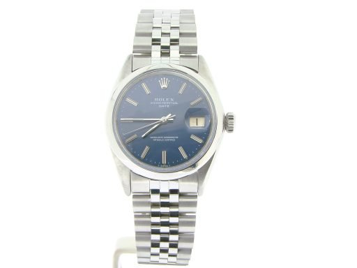 Rolex Stainless Steel Date 1500 Blue -6
