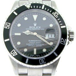 Mens Rolex Stainless Steel Submariner Black  16610 (SKU P571608NNBCMT)