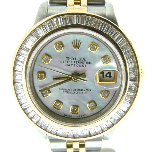 Rolex Two-Tone Datejust 69173 White MOP Diamond-1