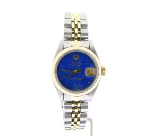 Rolex Two-Tone Datejust 6917 Blue Lapis -6