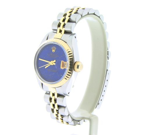 Rolex Two-Tone Datejust 6917 Blue Lapis -5