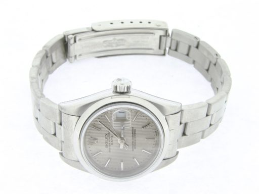 Rolex Stainless Steel Date 69160 Silver -6