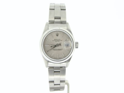 Rolex Stainless Steel Date 69160 Silver -7