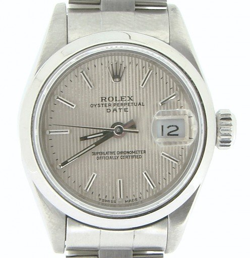 Rolex Stainless Steel Date 69160 Silver -1