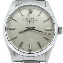 Mens Rolex Stainless Steel Air-King Silver  5500 (SKU 6099540NCMT)