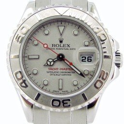 Ladies Rolex Stainless Steel & Platinum Yacht-Master  169622 (SKU D499987NMT)