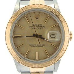 Mens Rolex Two-Tone 18K/SS Datejust Turn-O-Graph Champagne  16253 (SKU 9182483NMT)