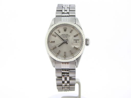 Rolex Stainless Steel Date 6917 Silver -4