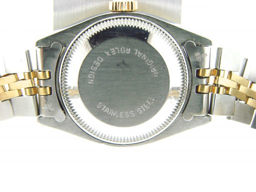Rolex Two-Tone Datejust 69173 Black -2