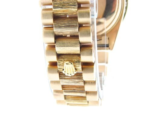 Rolex 18K Yellow Gold Day-Date President 1803 Red Diamond-2