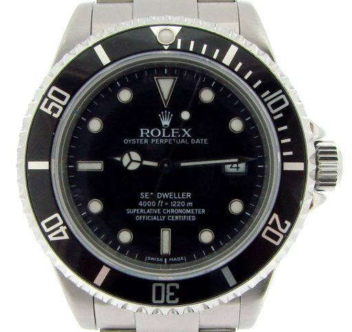 Rolex Stainless Steel Sea-Dweller 16600 Black -1