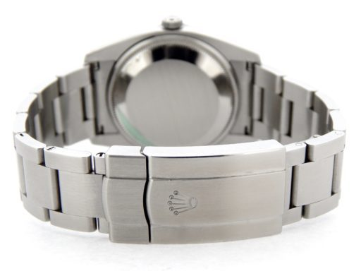 Rolex Stainless Steel Air-King 114200 Salmon-3