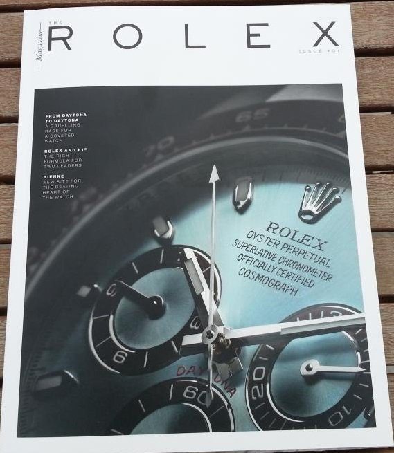 Post image for Rolex Magazine #1 (really?)