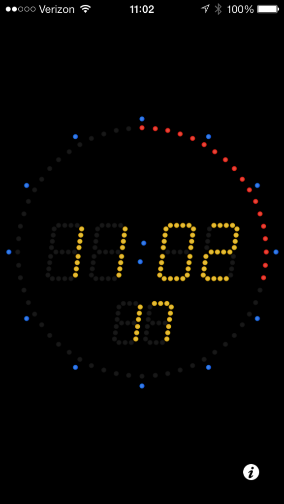 For the iPhone & Android, Atomic Clock to set your Rolex