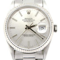 Mens Rolex Stainless Steel Datejust Silver  16234 (SKU S529654NMT)