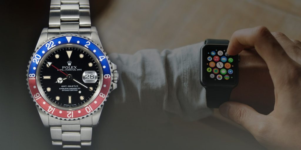 In the era of the smartwatch, arguments for Rolex