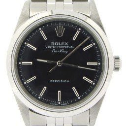 Mens Rolex Stainless Steel Air-King Black  14000