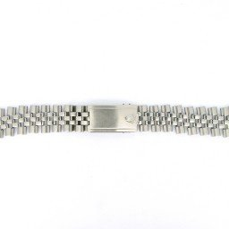 Genuine Rolex Stainless Steel Oval-Style Jubilee Band