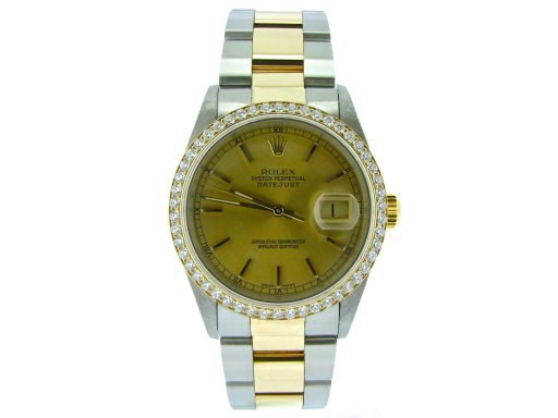 Rolex Two-Tone Datejust 16233 Diamond-6