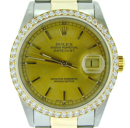Rolex Two-Tone Datejust 16233 Diamond-1