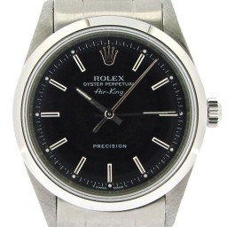 Mens Rolex Stainless Steel Air-King Black  14000 (SKU U630206NOYSCMT)