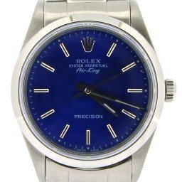 Mens Rolex Stainless Steel Air-King Blue  14000 (SKU T341855NOYSCMT)
