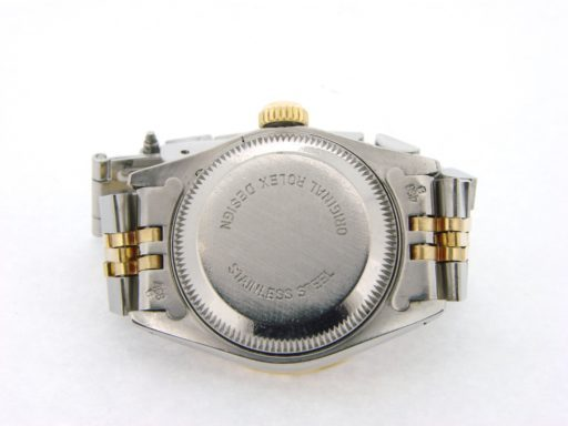 Rolex Two-Tone Date 69173 Diamond Champagne-2