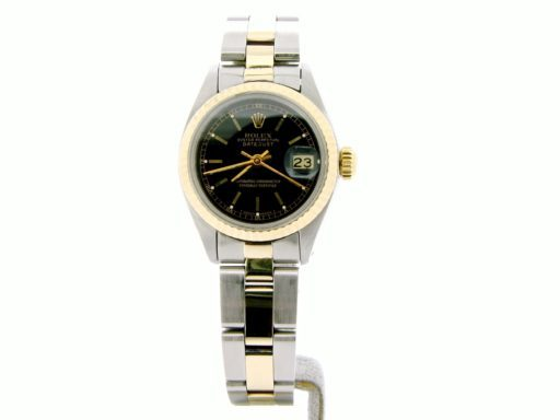 Rolex Two-Tone Datejust 6917 Black -6