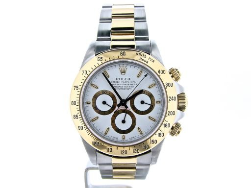 Rolex Two-Tone Daytona 16523 White-7