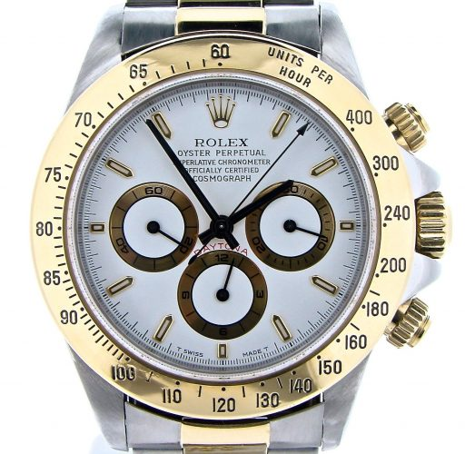Rolex Two-Tone Daytona 16523 White-1