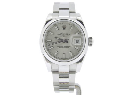 Rolex Stainless Steel Datejust 179160 Silver -6