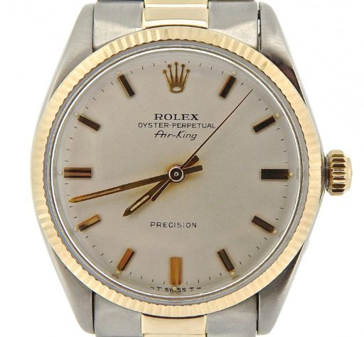 Rolex Two-Tone Air-King 5501 Silver -1