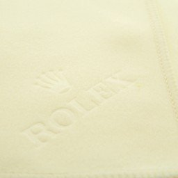 Genuine Rolex White Cream Watch Cleaning Polishing Cloth
