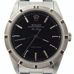 Mens Rolex Stainless Steel Air-King Black  14010 (SKU S631826NCMT)