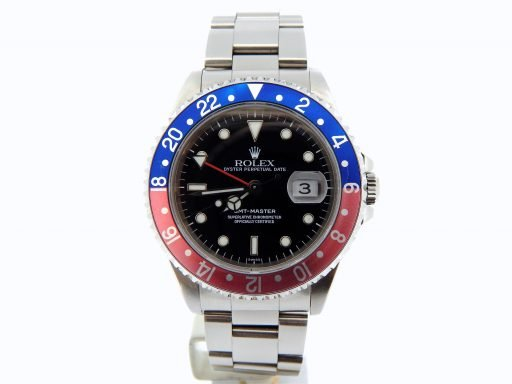 Rolex Stainless Steel GMT-Master 16700 Blue & Red Pepsi -8