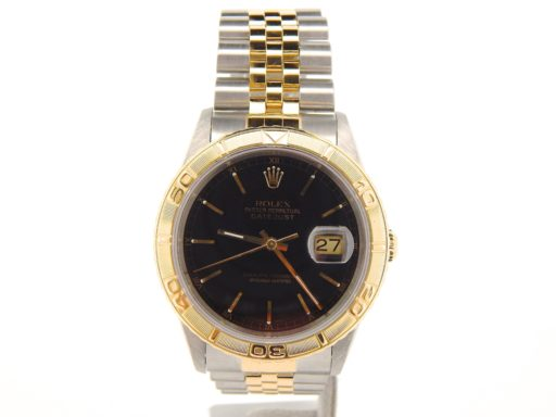Rolex Two-Tone Datejust Turn-O-Graph 16263-6