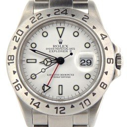 Mens Rolex Stainless Steel Explorer II White  16570