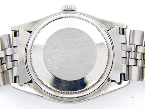 Rolex Stainless Steel Datejust 1603 Blue -2