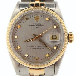 Mens Rolex Two-Tone Date Gray Slate 1505 (SKU 1555008NMT)