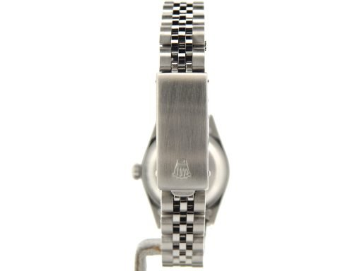 Rolex Stainless Steel Datejust 69174 Silver MOP Diamond-2
