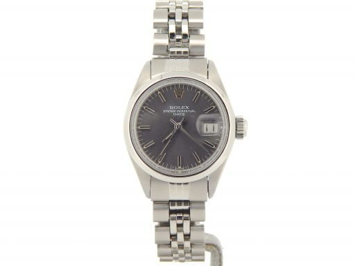 Rolex Stainless Steel Date 6916 Gray, Slate -6