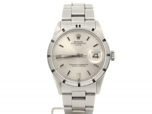 Rolex Stainless Steel Date 1501 Silver -8