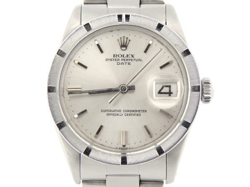 Rolex Stainless Steel Date 1501 Silver -1