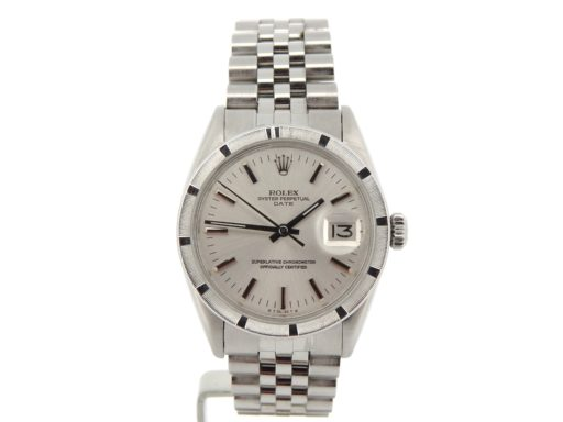 Rolex Stainless Steel Date 1501 Silver -6