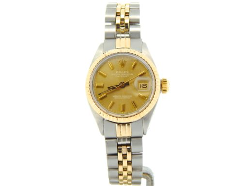 Rolex Two-Tone Datejust 6917 Gold -6