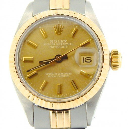 Rolex Two-Tone Datejust 6917 Gold -1