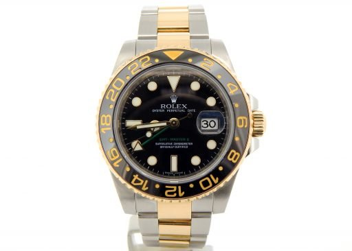 Rolex Two-Tone GMT Master II 116713 Black Ceramic -7