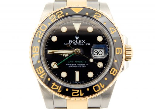 Rolex Two-Tone GMT Master II 116713 Black Ceramic  -8